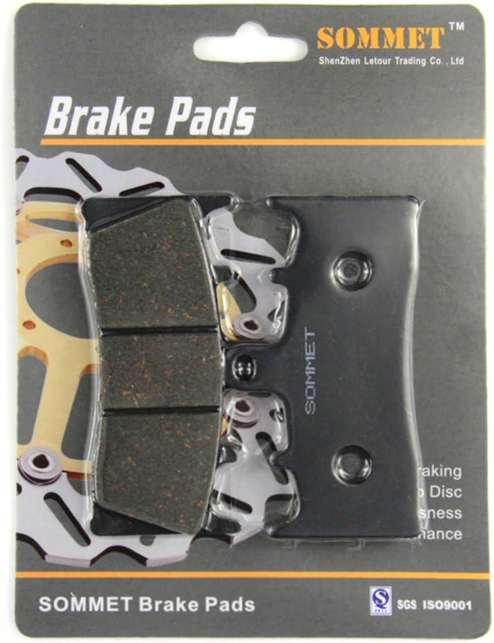 SOMMET Motorcycle Front Brake Pads Disc 1 pair for Suzuki GSX 1300 R Hayabusa 1999-2007