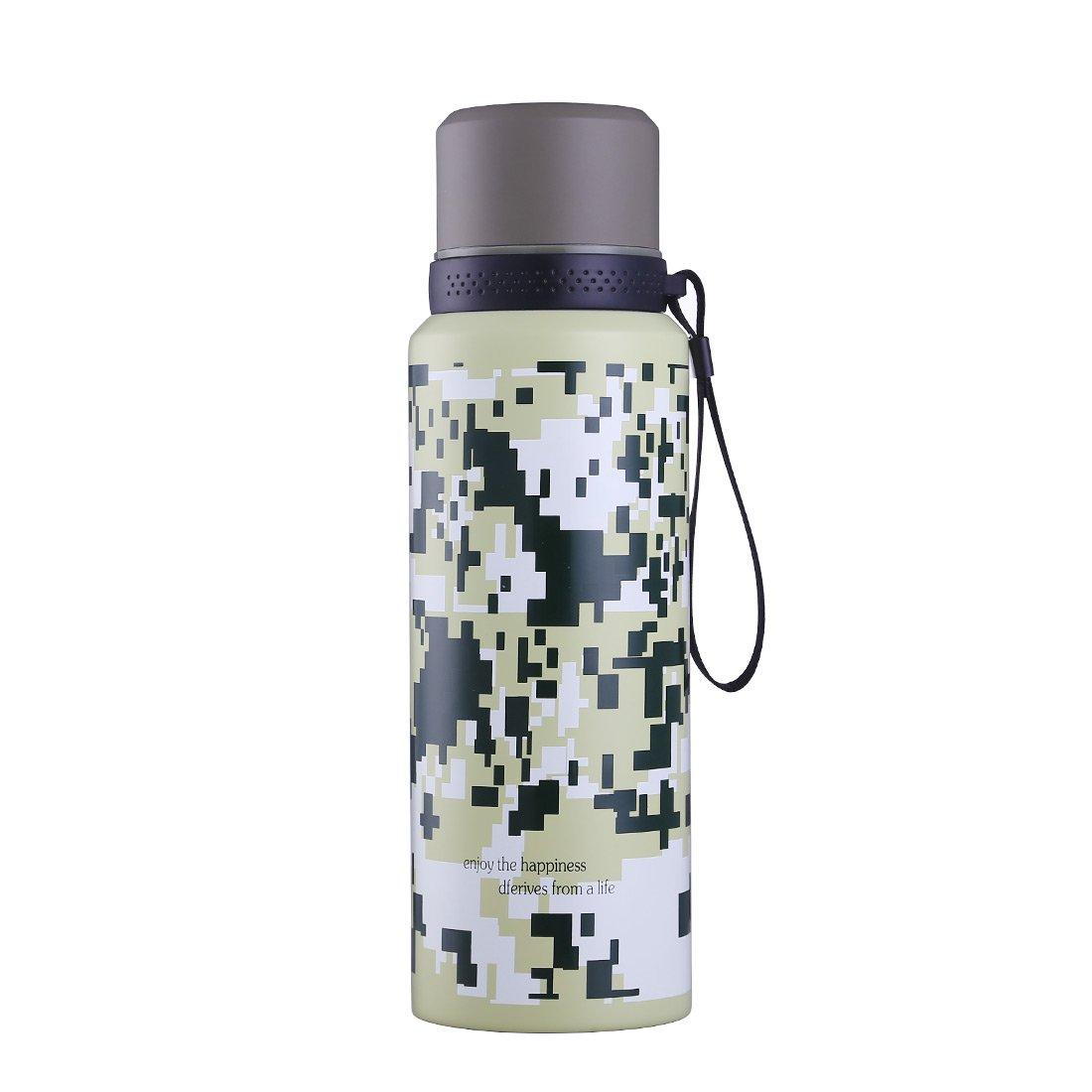 Botella de Agua de Acero Inoxidable con Aislamiento al Vacío ...