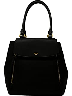 ae6312348eea5 Amazon.com  Tory Burch Half-Moon Ladies Small Leather Satchel ...