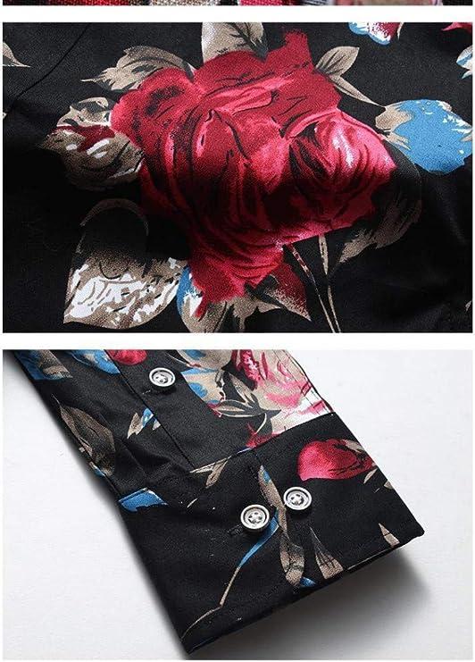 Camisa De Manga Larga para Hombre Primavera Y Otoño Estilo ...