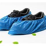 RYS Disposable Shoe Covers 100 Pieces, Blue