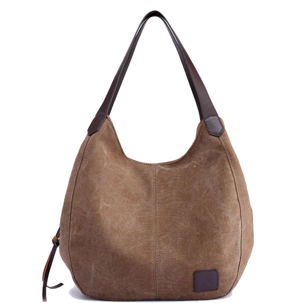 Prime Sale Day Deals Women Casual Cotton Canvas Handbags Shoulder Bags Totes
