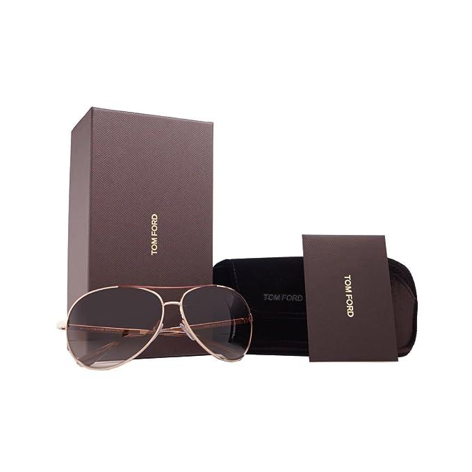 Tom Ford - Unisexsonnenbrille - FT0035 772 - Charles dCrugBPX