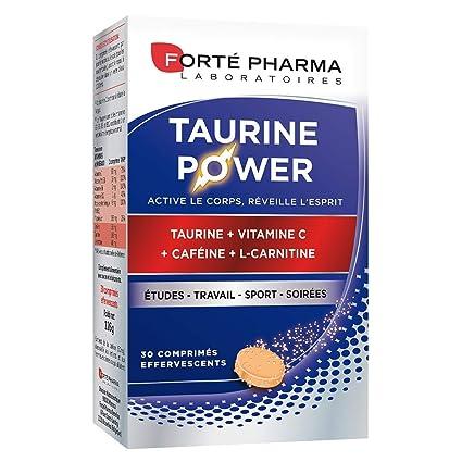 Forté Pharma énergie taurine power 30 comprimés effervescents