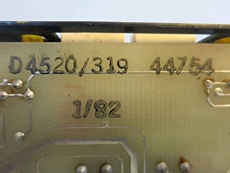 ADT 4520-319 Signal System Control Unit Assembly PLC 48-FD-4520 2 P-42552 2 Fire