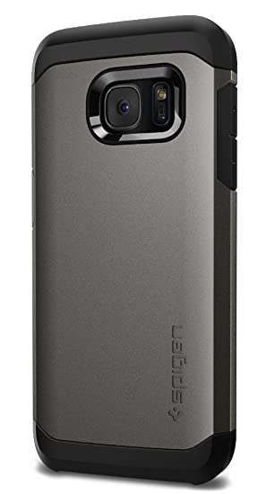 buy online 503be d3f9f Spigen Tough Armor Designed for Samsung Galaxy S7 Case (2016) - Gunmetal