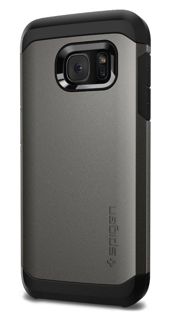 Spigen Tough Armor Designed for Samsung Galaxy S7 Case (2016) - Gunmetal