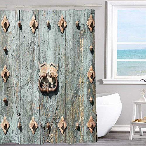 - MKOK Waterproof Fabric Shower Curtain 60