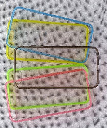 Olayer Apple iPhone 6 6s plus Custodia Case 5.5 Bumper Cover Shock-Absorption Bumper e Anti-Scratch per iPhone 6/6s plus 5.5 Inch grigio
