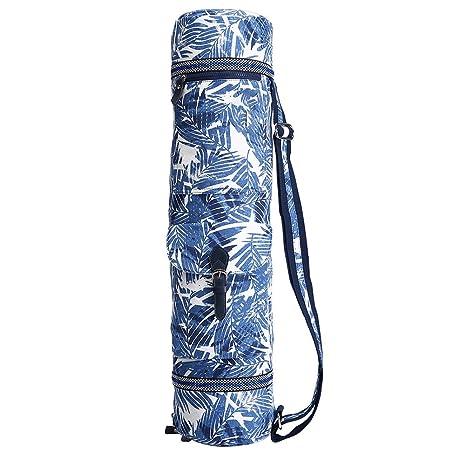 ChengYi Yoga Mat Bag - Bolsa Plegable de Lona para Yoga ...