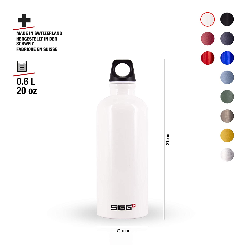 Amazon.com: Sigg, botella de agua clásica Traveller ...