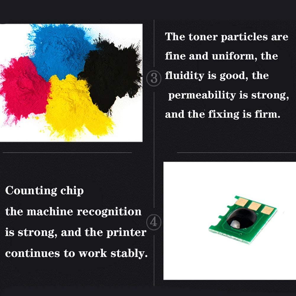 Replacement for HP CF740A Toner Cartridge CP5225 5225N 5225DN Printer Original Consumables Applicable Parts High Capacity-Yellow