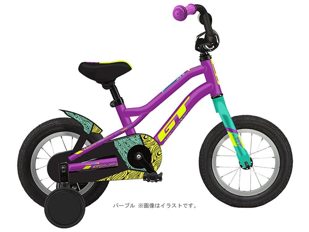 気質アップ GT (ジーティー) 2018 サイレン12 キッズバイク 12インチ パープル 9074327   B01MU1DTGM, 摂津市 56efe709