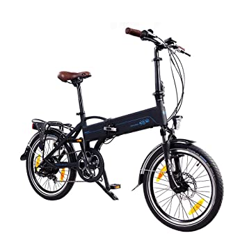 NCM Madrid 20 pulgadas bicicleta eléctrica S de bicicleta plegable E-Bike aluminio 36 V