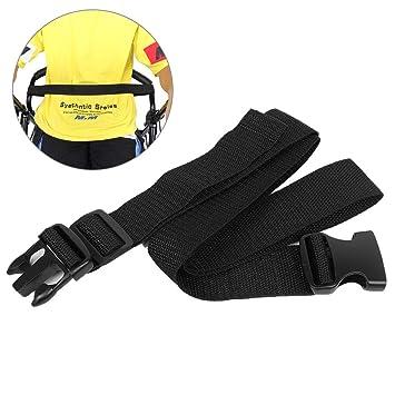Wheelchair Seat Belt//Chest Strap Adjustable Black 47 Safety Belt for Elderly Patients Disabled /& Handicapped