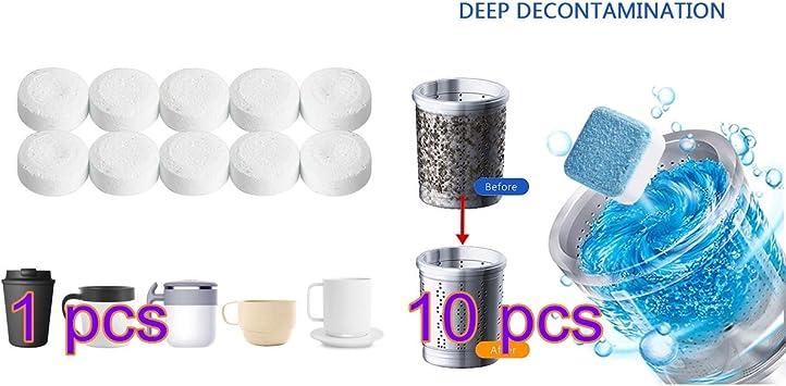 Hejia Limpiador para lavadora 15 piezas, limpiador para máquina ...