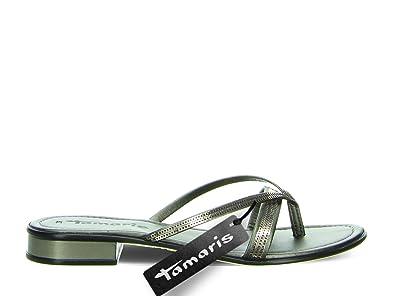 Tamaris 27107 20 915 Damen Pantolette aus Lederimitat