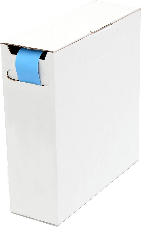 Schrumpfschlauch Isolierschlauch 2 1 D 9 5mm D 4 8mm Länge 8 M Blau In Praktischer Spender Box Baumarkt