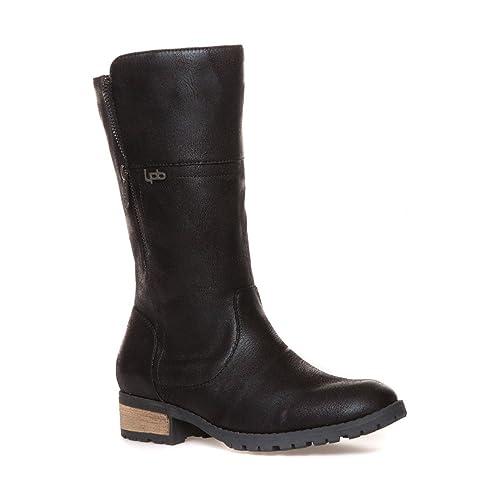 bottes noires femme lpb