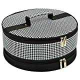 Picnic at Ascot Houndstooth Pie/ Cake Carrier