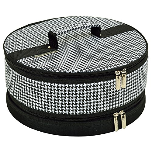 Picnic at Ascot Hounds Tooth Pie/Cake Carrier