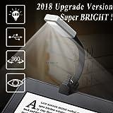 Lámpara de Lectura, Luces de lectura, 50Lúmenes, Flexo LED de Pinza con Carga USB, Con 4 Niveles de brillo Ajustable, Con Batería Recargable, es Más Económico y Ecológico