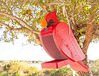 product image for DutchCrafters Hanging Bird Feeder (Cardinal)