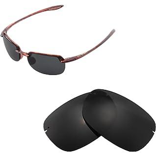 613077007c991 Walleva Replacement Lenses for Maui Jim Sandy Beach Sunglasses - Multiple  Options Available