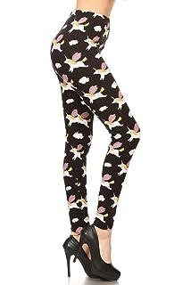 c455bd7ff4275 Leggings Depot Ultra Soft Regular and Fashion Leggings BAT7 at ...