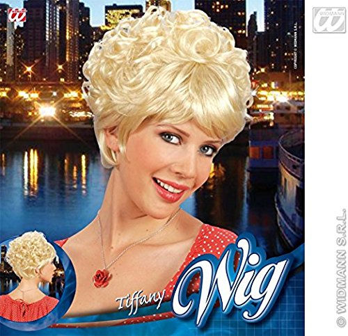 Tiffany Straight/curly Short Blonde Wig For Hair Accessory Fancy (Curly Costumes)