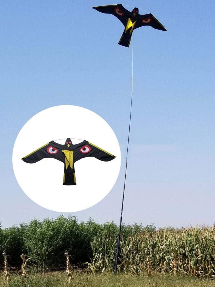 Chuanfeng Cerf-Volant Cerf-Volant Grand Oiseau Solide pour Gar/çons Filles Wonderful Cerfs-Volants Aigle 3D pour Enfants Et Adultes Cerf-Volant Effaroucheur doiseaux pour Jardin De Protection