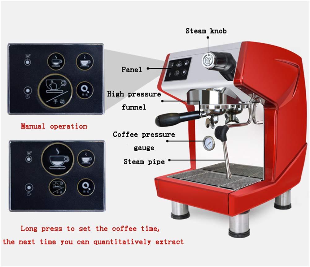 Amazon.com: MAYLIBINA Cafetera con molinillo Espresso ...