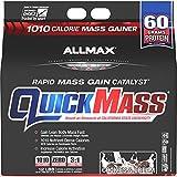 ALLMAX QUICKMASS LOADED, Rapid Mass Gain Catalyst Powder, Zero Trans Fat, Cookies & Cream Flavor, Dietary Supplement, 12 Pound