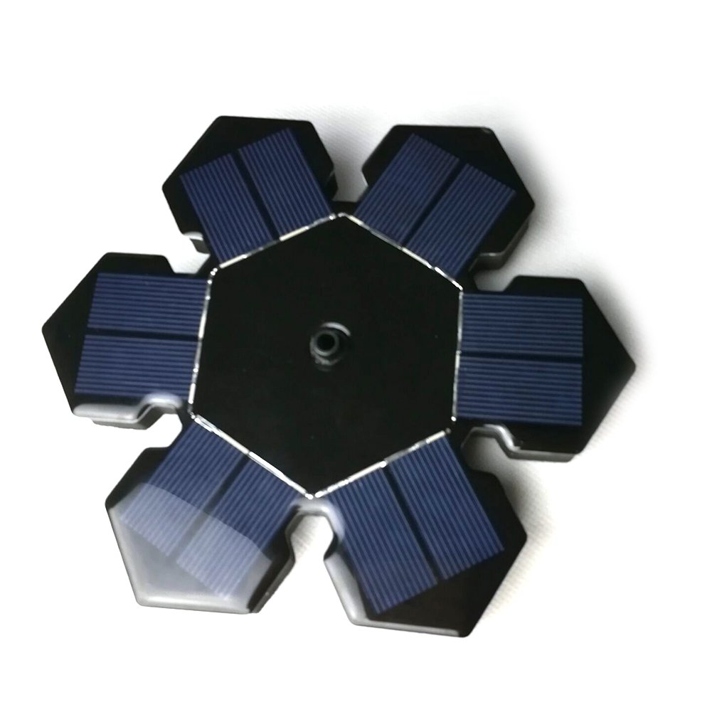 Leoie Mini Solar Powered Fountain Pump Water Floating Solar Water Pumps For Garden Pool Outdoor Decoration by Leoie