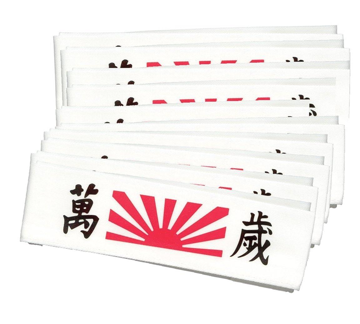 10 Pack Banzai Headbands