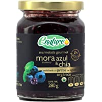 Enature Mermelada de Mora Azul con Chía, 280 g