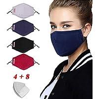 LILIfoodshop faciales Protectoras de algodón Reutilizables, Antipolvo Proteger