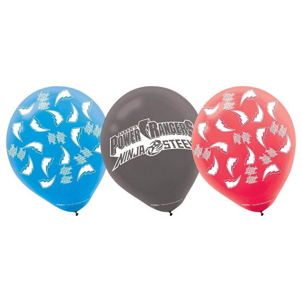 Power Rangers Samurai Printed Latex Balloons Party Accessory