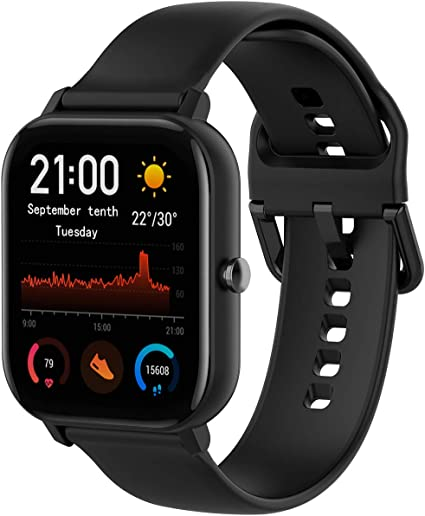 Compatible con Amazfit GTS Healthy Watch Straight Line Correa de ...