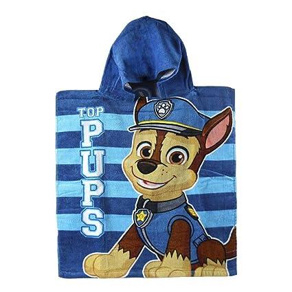 Poncho toalla Patrulla Canina Paw Patrol Top Pups algodon