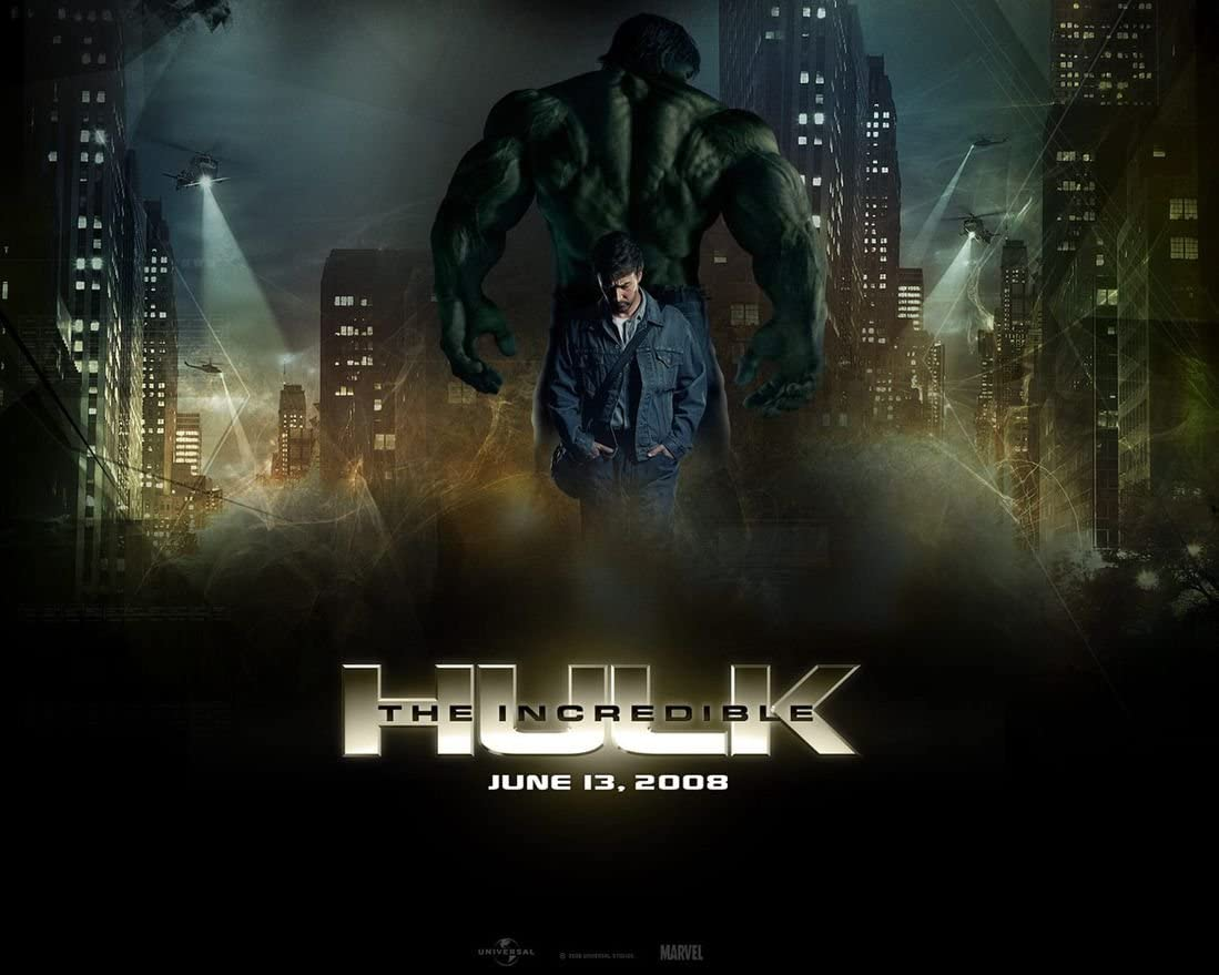 Amazon Com 005 The Incredible Hulk 18x14 Inch Silk Poster Aka