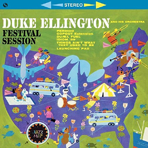 Duke Ellington - Festival Session + 2 Bonus Tracks (Bonus Tracks, Limited Edition, 180 Gram Vinyl, Spain - Import)