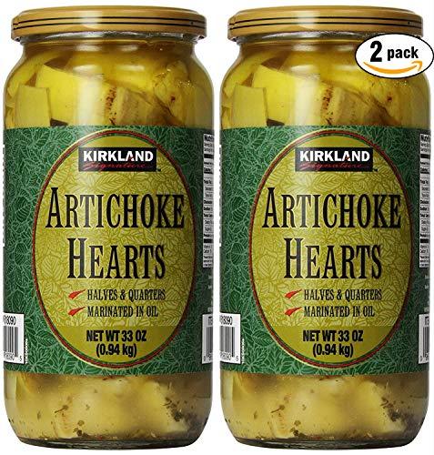 Kirkland Signature Artichoke Hearts, 66 Ounce (B00B9VFQL2