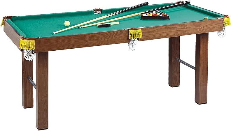 Homcom Mesa de Billar con Accesorios Juego de Billar de Madera para Niños +3 Años y Adultos 123.5x66.5x66cm: Amazon.es: Juguetes y juegos