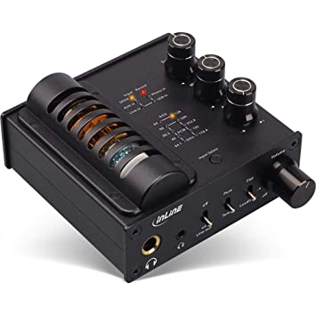 InLine ampusb Hi-Fi EQ, Hi-Res Audio dsd Auriculares Amplificador de Tubo + Ecualizador, USB DAC: Amazon.es: Informática