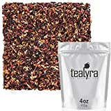 Tealyra – Strawberry Hibiscus Sangria – Apple Orange Mint – Herbal Fruity Loose Leaf Tea Blend – Caffeine-Free – Vitamin Rich – Hot or Iced – 112g (4-ounce) Review