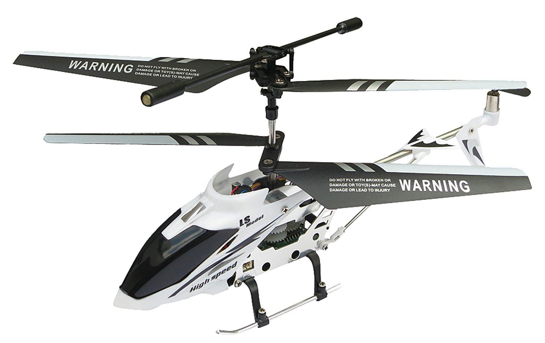 Gyro RC Hubschrauber 3.5ch mit einer Gesamtlange 220mm 220mm 220mm ausgestattet (Case Weiß) 321052
