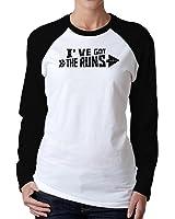 Idakoos - I've got the runs - Urbans - Women Raglan Long Sleeve T-Shirt