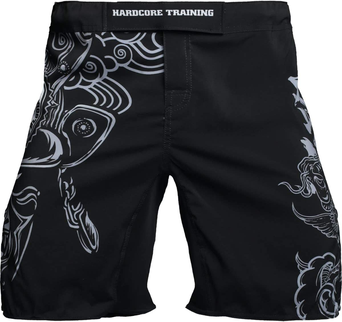 Hardcore Training Fight Shorts Mens Koi Pantalones Cortos Hombre MMA BJJ Fitness Artes Marciales Boxeo