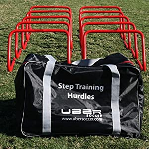 Uber Soccer Step Training Hurdles